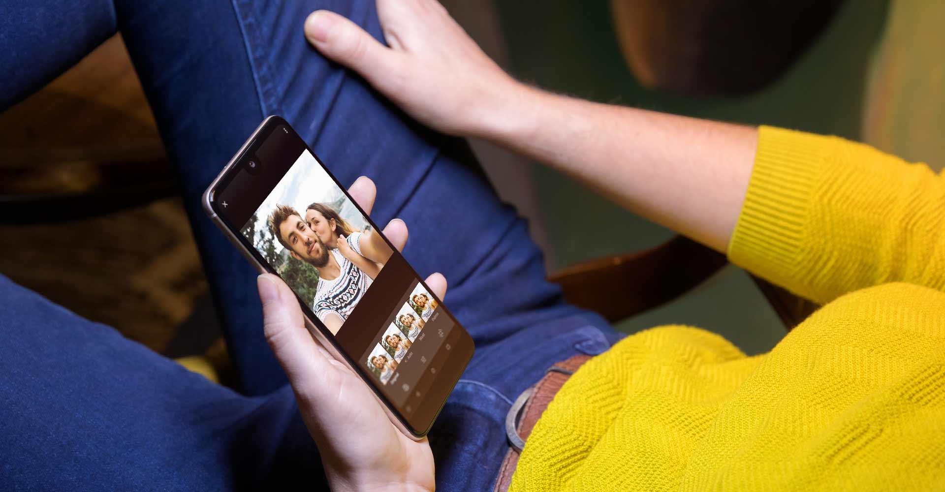 Wiko View2 - Wiko Mobile Algérie - Live portrait blur